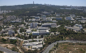 Technion – Israel Institute of Technology - The campus on Mount Carmel, Haifa