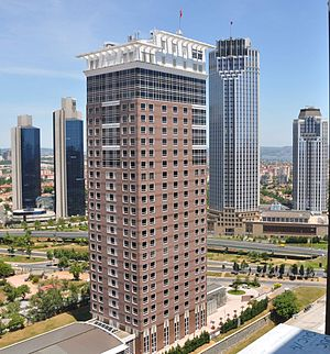 Isbank Tower 1 - Image: Tekfen Sabanci Is Bank