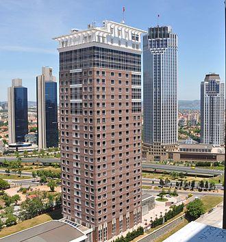 Isbank Tower 1 - Image: Tekfen Sabanci Is Bank