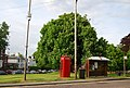 Telephone box and Bus stop, Pembury village green - geograph.org.uk - 1302153.jpg
