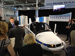 Terrafugia -- 2012 NYIAS -- right front with CEO.jpg