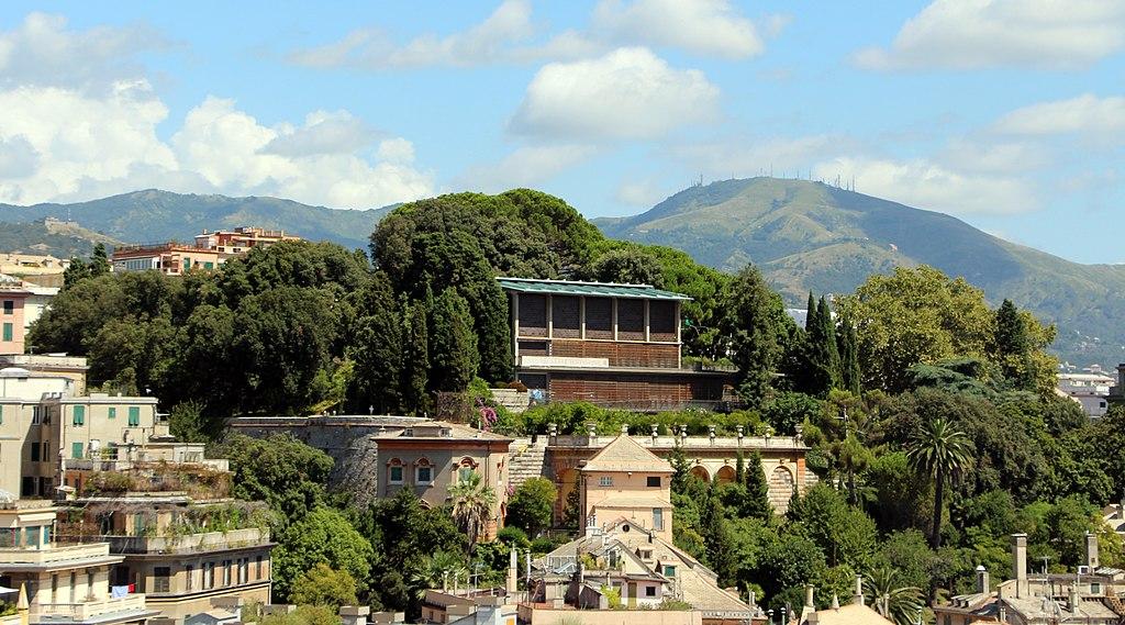 Musée asiatique de Gênes sur la colline boisée du parc de la Villetta Di Negro. Photo de Sailko.