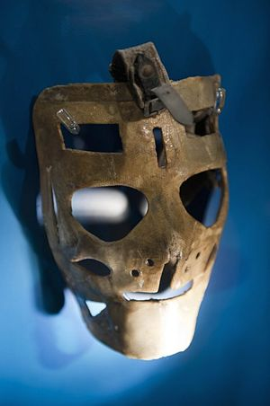 Lester Patrick Trophy - Image: Terry Sawchuk Mask