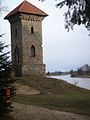 Tetelminde manor tower (artificial ruins circa 1840) - ainars brūvelis - Panoramio.jpg