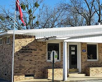 Carmine, Texas - Texas Basketball Museum in Carmine