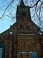 Texel - Den Burg - Binnenburg - View East on Protestant Church 'De Burcht' I.jpg
