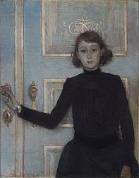 Portrait of Marguerite van Mons