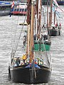 Thames barge parade - in the Pool - Thalatta 6732.JPG