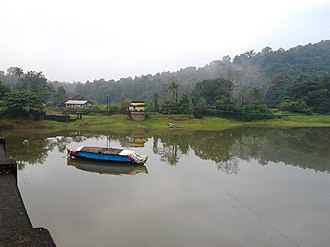 Periyar (river) - Thattekad Bird Sanctuary is an evergreen low-land forest located between the branches of Periyar River