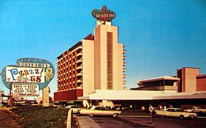 Desert Inn - The Desert Inn in 1968