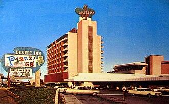 Desert Inn - The Desert Inn in 1968
