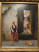 The Guard, Jean-Leon Gerome - Indianapolis Museum of Art - DSC00663.JPG