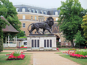 Maiwand Lion - Image: The Maiwand Lion, Forbury Gardens, Reading 2