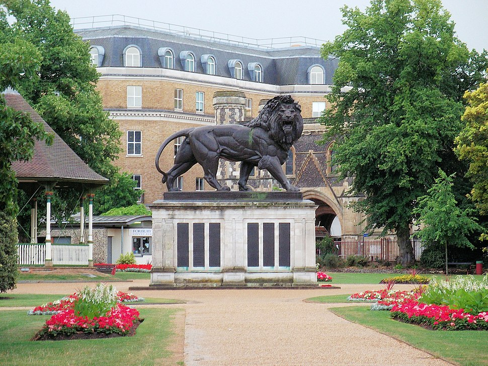 The Maiwand Lion, Forbury Gardens, Reading 2
