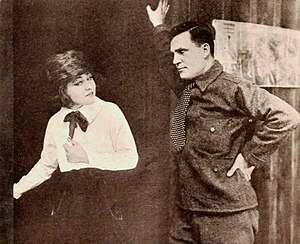 Rockliffe Fellowes - Ethel Clayton and Rockliffe Fellowes in The Man Hunt (1918)
