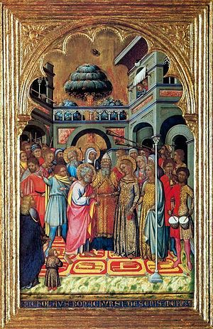 Niccolò di Buonaccorso - Marriage of the Virgin
