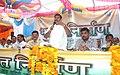 The Minister for Sports & Youth Welfare, Maharashtra, Shri Padmakar Valvi addressing at the inauguration of the Public Information Campaign on Bharat Nirman, at Akkalkuwa, District Nandurbar, Maharashtra on October 10, 2013.jpg