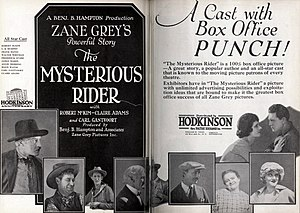 The Mysterious Rider (1927 film) - Image: The Mysterious Rider (1921) 4