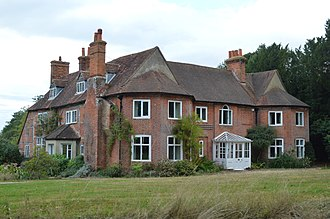 Grade II* listed buildings in Hart - Image: The Old Rectory, Eversley