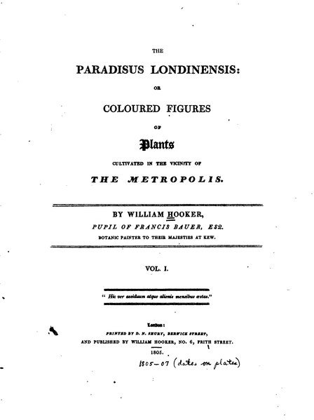 File:The Paradisus Londinensis 1(1).djvu