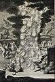 The Phillip Medhurst Picture Torah 526. Nadab and Abihu destroyed. Leviticus cap 10 v 2. Hertz.jpg