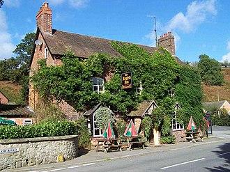 Little Stretton, Shropshire - Image: The Ragleth Inn, Little Stretton geograph.org.uk 255655