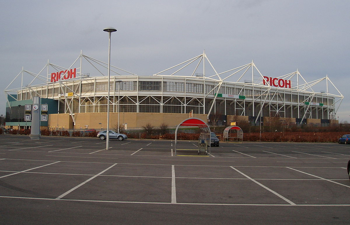 Parking  Ricoh Arena  Wasps