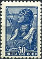 The Soviet Union 1939 CPA 695 stamp (Airman).jpg
