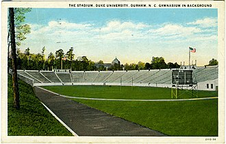 Wallace Wade Stadium - Duke Stadium (now Wallace Wade Stadium) in 1932.