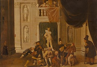 The Triumph of Folly: Brutus Playing the Fool before King Tarquinius