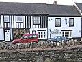 The Unicorn Inn, Corve Street, showing former coach entrance - geograph.org.uk - 779179.jpg