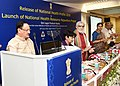 The Union Minister for Health & Family Welfare, Shri J.P. Nadda launching the National Health Resource Repository (NHRR), at a function, in New Delhi.JPG