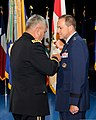 The Vice Chief of Staff of the U.S. Army Gen. John F. Campbell, left, pins the distinguished service medal on Maj. Gen. Timothy A. Byers, right, the Civil Engineer, Headquarters U.S. Air Force, during 130621-A-WP504-092.jpg