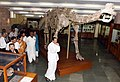 The Vice President, Shri M. Venkaiah Naidu visiting the Geology Museum, during the closing ceremony of 125th Birth Anniversary of Prof. P.C. Mahalanobis and the 12th Statistical Day celebration, in Kolkata.JPG