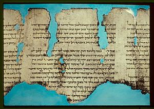 War of the Sons of Light Against the Sons of Darkness - The War Scroll, found in Qumran Cave 1.