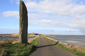 Loch of Stenness - The Watch Stone, Stenness