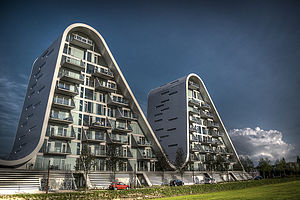Henning Larsen Architects - The Wave in Vejle, Vejle, Denmark