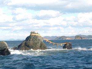 "Ise, Mie - Meoto Iwa, the ""wedded rocks"""