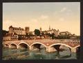 The castle and bridge, Pau, Pyrenees, France-LCCN2001698665.tif