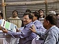 The counting of votes in progress, at a Counting Centre of General Election-2014, in New Delhi on May 16, 2014 (3).jpg