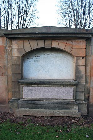 William Hole (artist) - The grave of William Hole RSA, Grange Cemetery, Edinburgh