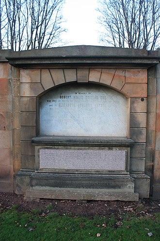 William Hole (artist) - The grave of William Hole RSA, Grange Cemetery, Edinburgh