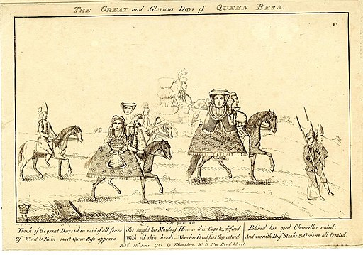 The great and glorious days of Queen Bess (BM 1851,0901.42)