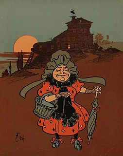 There was an Old Woman Who Lived in a Shoe English language nursery rhyme