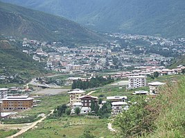 Thimphu from the south 080907.JPG