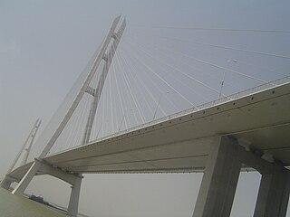 Nanjing Dashengguan Yangtze River Bridge road bridge in Nanjing, China