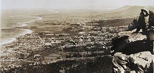 Thirroul, New South Wales - Thirroul circa 1920 showing the town as it was described by D. H Lawrence.