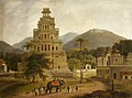 Thomas Daniell (1749-1840) - The Fort of Vellore in the Carnatic, India - 732241 - National Trust.jpg