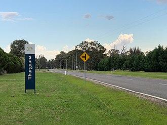 Thurgoona, New South Wales - Thurgoona northern entrantce