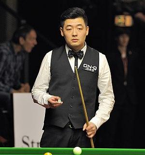 Tian Pengfei at Snooker German Masters (Martin Rulsch) 2014-01-30 09.jpg